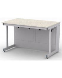 Стол лабораторный усиленный.Материал рабочей поверхности стола: искусственный кварцевый камень без бортика.Габариты (ДхГхВ), мм: 1200х750х750 (для работы сидя).