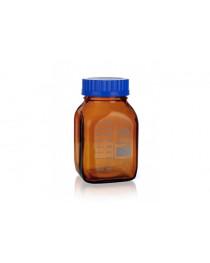Бутылка лабораторная 2000 мл, темное стекло, с винтовой крышкой GL 80 (414825950), SIMAX
